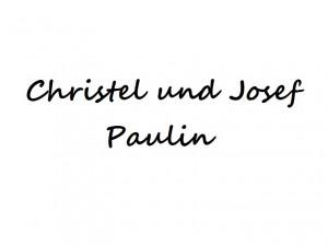 Christel und Josef Paulin